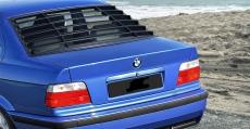 Katzentreppe für BMW e36 Limousine Limo Heckscheiben Jalousie Spoiler Window Louver