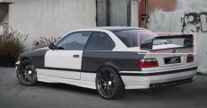 Heckspoiler für BMW E36 Heckflügel Class II Spoiler Coupe Limousine Dachspoiler