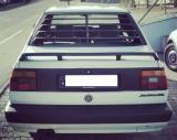 Window Louver Katzentreppe Heckscheibenblende Spoiler Jalousie für VW Jetta 2 Limousine