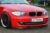CUP Frontspoilerlippe gefertigt für BMW 1er E81 87 Facelift ab Bj. 2007-