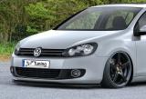 CUP Frontspoilerlippe für VW Golf 6 1K Bj. 2008-2013