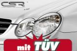 Scheinwerferblenden für BMW 1er E81,E82,E87,E88 chrom SB026